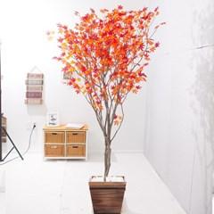 라인-홍단풍나무화분set 240cm 조화 인조 나무 인테리어_(1689374)