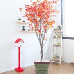 라인-홍단풍나무화분set 210cm 조화 인조 나무 인테리어_(1689373)