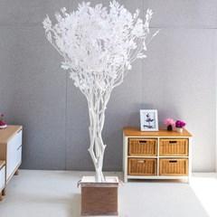 라인-화이트느티나무화분set 240cm 조화 인조 나무 인테_(1689365)