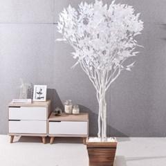 라인-화이트자작나무화분set 240cm 조화 인조 나무 인테_(1689363)