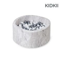 [KIDKII] 키드키 볼풀 세트 원형 마블+볼 200개