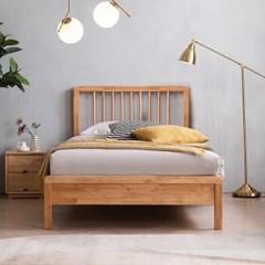 아스티 전체 고무나무 원목 침대(NEW E호텔 양모 7존 독립매트-SS)