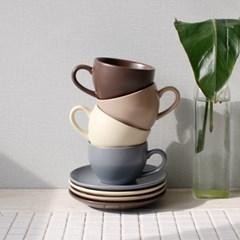 에크렌(Ecrins) 노블 커피잔 1인세트- 4color_(2874323)