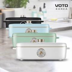 Voto A4BOX 레트로 전기그릴 테이블 멀티쿠커
