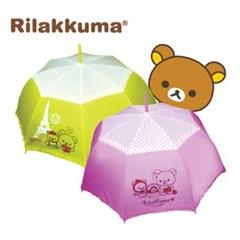 리락쿠마 장우산 2개 학생용우산 흐린 날씨 필수템