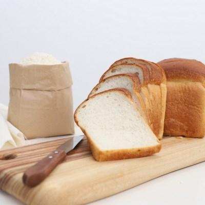 쌀식빵(4개) 속편한 식사대용 맛있는 아침식빵 비건빵