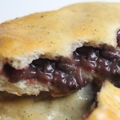 흑임자단팥쌀빵(8개) 국내산팥' 속편한빵 맛있는 간식