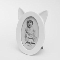 고양이귀 사진액자(4x6)/ 인테리어 탁상액자