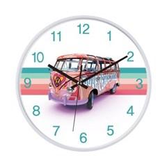 [폭스바겐]인테리어 저소음 벽시계 VW-LovebusGP