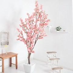 벚꽃나무화분set 252cm -핑크 KO(5-5) 조화 나무 인테리_(1710550)