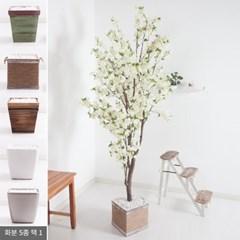 벚꽃나무화분set 252cm -화이트 KO(5-5) 조화 나무 인테_(1710549)