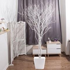 라인-화이트소원나무화분set 210cm 조화 나무 인테리어_(1710546)