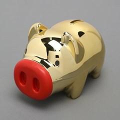 마키골드 돼지저금통(중)/판촉사은품 복돼지 저금통