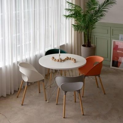 레이지 체어 식탁의자 5 Colors