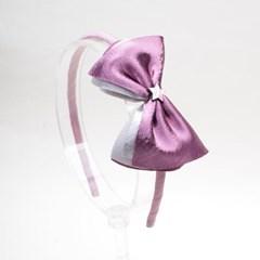 [헤어보우]공단별 헤어밴드_핑크바이올렛