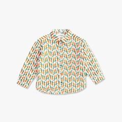 당근 프린트 아동 셔츠 IC1WS100B