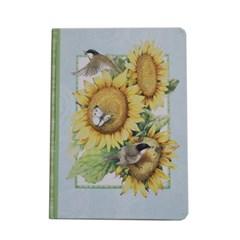 클래식저널-chickadees sunflowers