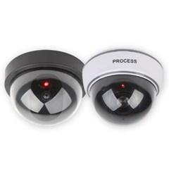 모션인식! 모형 가짜 CCTV 감시 카메라 모형2종 방범 녹화