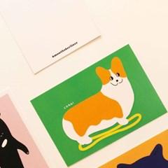동물동물POSTCARD