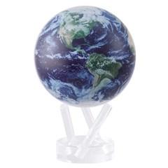 빛만 있으면 OK 자가회전 SatelliteView 지구본 114mm