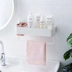 접착식 욕실 정리함 3color