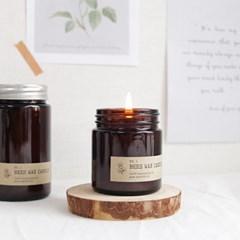 천연 밀랍초 꿀초 비즈왁스 캔들