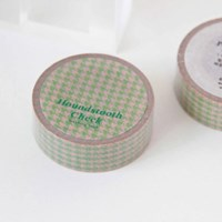 Houndstooth Check Masking Tape