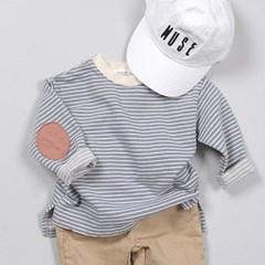 츄) 패치단가라 아동 티셔츠