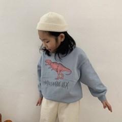 라)공룡 아동 맨투맨 티