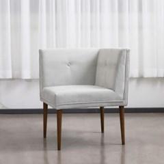 순수 패브릭 1인 코너의자