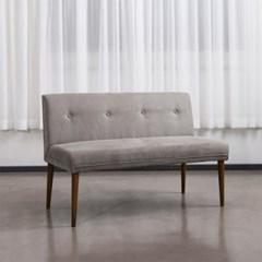 순수 패브릭 2인 의자