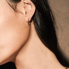 [매디]매화 Natural Round Earring