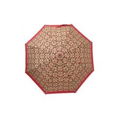 COACH 코치우산 시그니처 크레용하트 우산 91362 KH/RD