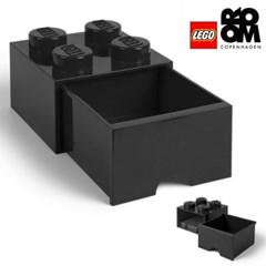 [레고스토리지] 레고 서랍형정리함 4구 (블랙)
