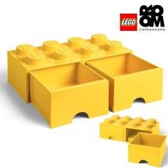 [레고스토리지] 레고 서랍형정리함 8구 (옐로우)