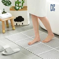 욕실 주방 베란다 미끄럼 사고방지 논슬립 조립식매트_(1151607)
