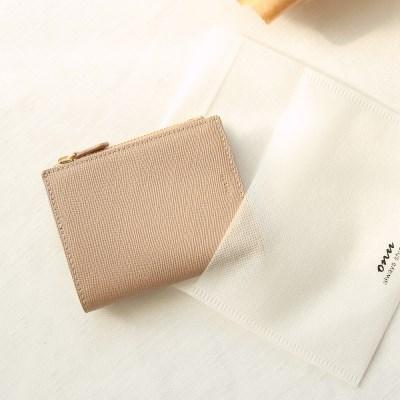Bless you half wallet(beige)