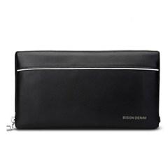[Bison Denim] 스트랩 라인 클러치백 N2292/파우치백/손가방