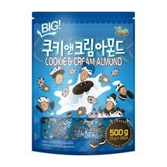 BIG 쿠키앤크림 아몬드 25gx20입