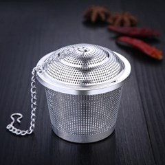 쿠킹스 스텐 차거름망(4.5cm)(원통) / 스텐 다시망