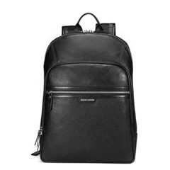 [Bison Denim] 심플 캐쥬얼 백팩 N2337-1B/정장가방/가죽가방