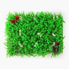 그린월 풀꽃 인조잔디 / 벽면데코 인테리어 잔디벽