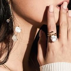 [매디]매화 White Blossom Ring