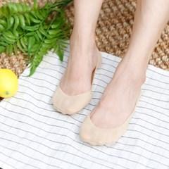 여성 베르누베 07 누드원 실리콘 덧신