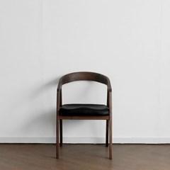 [헤리티지월넛] H형 의자 블랙_(1463837)