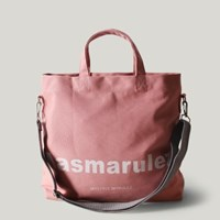 Basic cotton cross bag _ Pink