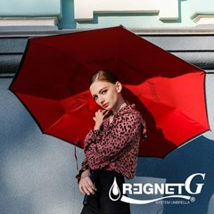 레그넷 G. 친환경 빅사이즈 자동 접힘 거꾸로 우산_(1301562)