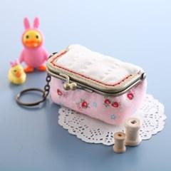 퀼트패키지 동전지갑만들기 딸기프레지에