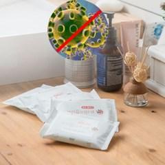 JI 유해세균 99%올가드살균티슈 휴대용손소독 세정티슈 장난감소독
