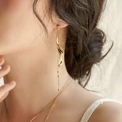 [매디]국화 Petal Drop Earring